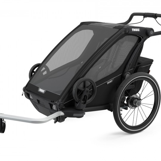 THULE - Rimorchio multisportivo CHARIOT SPORT 2 - Colore: Midnight Black